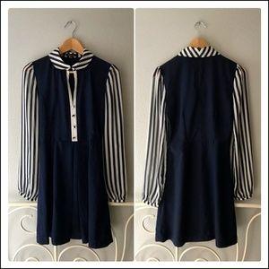 Modcloth Parisian Sailor Dress (NWOT)
